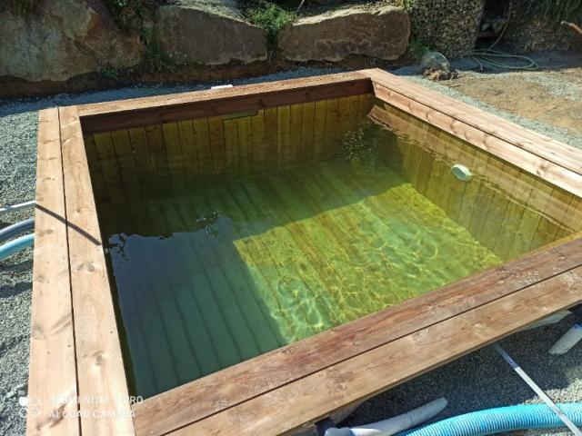 Création d'une piscine sur mesure en bois près de Nantes